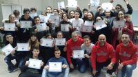 I ragazzi della 2^A del Liceo Sportivo E. Fermi di Cecina