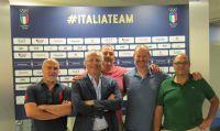 Da sin a dx: Gigi Bravin, Luca Lorandi, Paolo Sonzogni, Stefano Neva e Massimo Coculo. Assente, Paolo Crosti