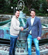 Da sx, Angelo Piccolella e Diego Di Pasquale