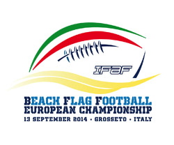 FLAG FOOTBALL WORLD CHAMPIONSHIP 13 SEPTEMBER 2014 GROSSETO ITALY