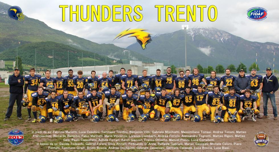 Thunders Trento